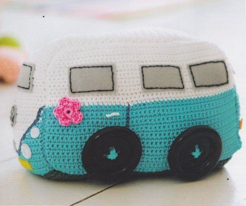 Campervan, Crochet, pattern,