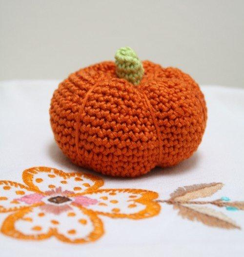 Pumpkin crochet pattern Crochet -- Food & Drink Pinterest