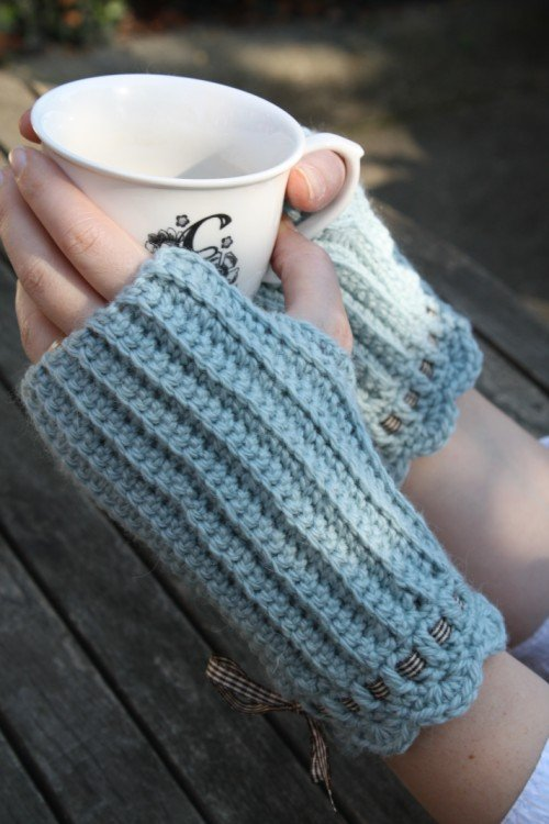 Crochet Mitten Pattern : From the Archive: Crochet Mittens Pattern I Made it!