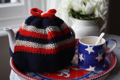 Craft Union Jack Tea Cosy Knit Patterns 31 Daily