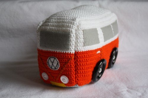 Vw Campervan Knitting Pattern : Ding Ding! Here comes the bus   Emma Varnams blog