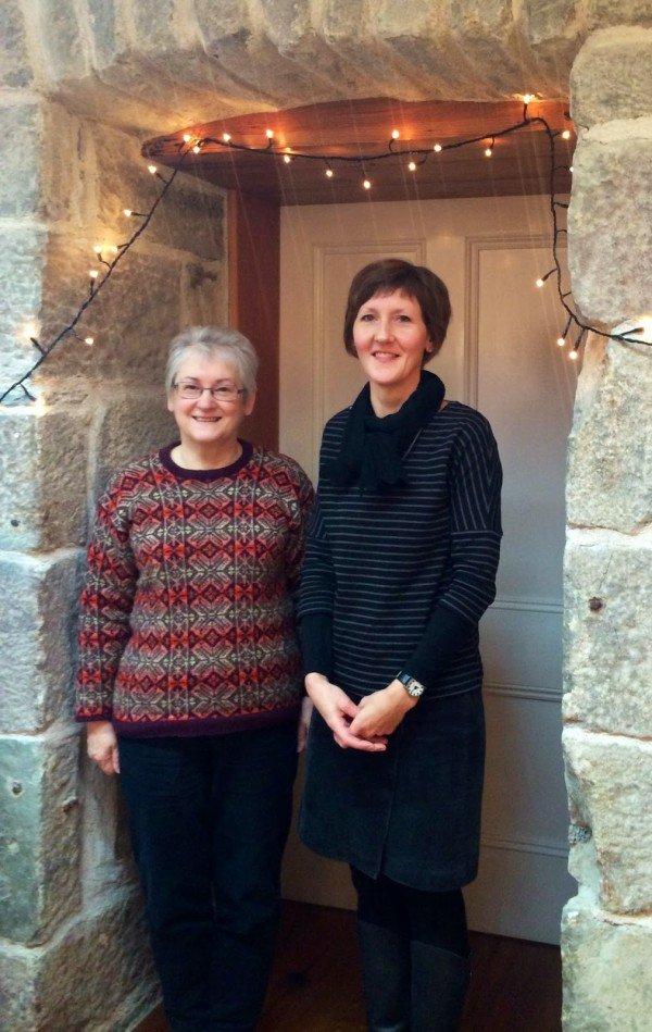 Donna Smith & Hazel Tindall