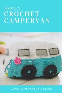 Crochet Campervan Doorstop Pattern