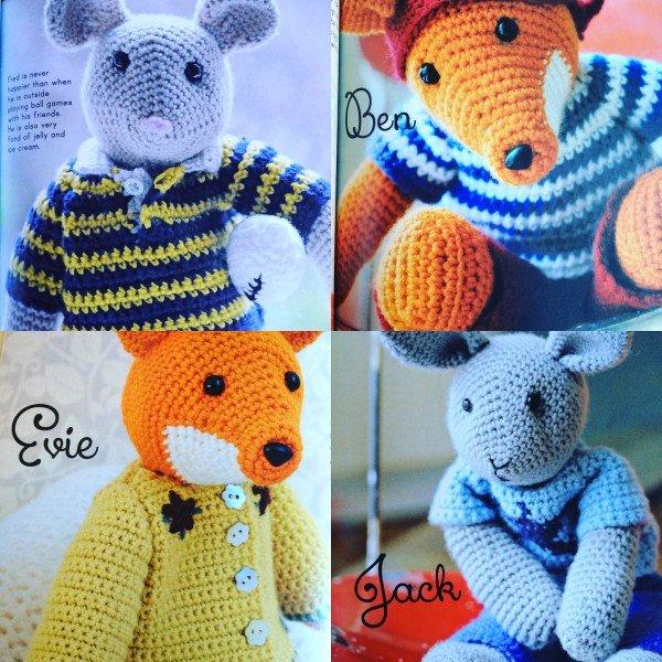 New Book Alert - Cute Crocheted Animals • Emma Varnam's blog