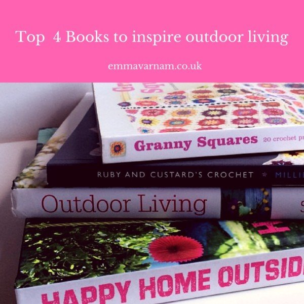 Top Books to inspire outdoor living