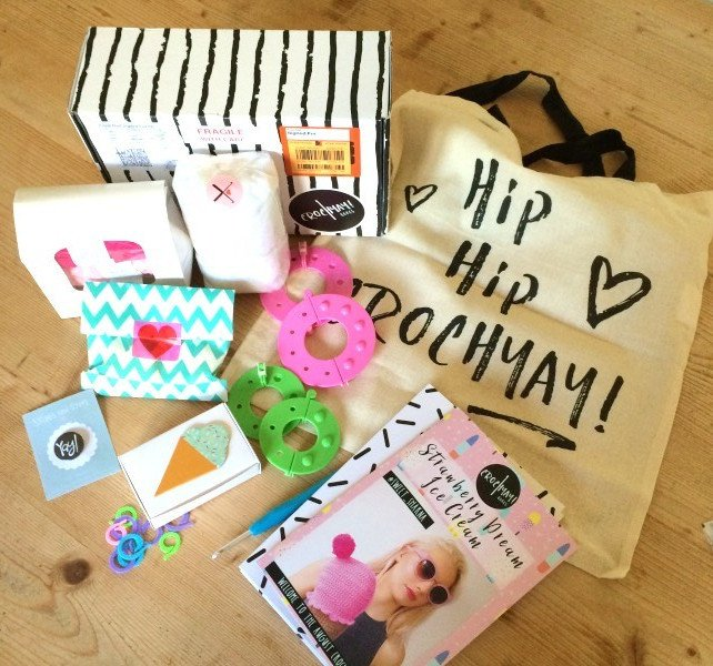 crochyay, contents, crochet