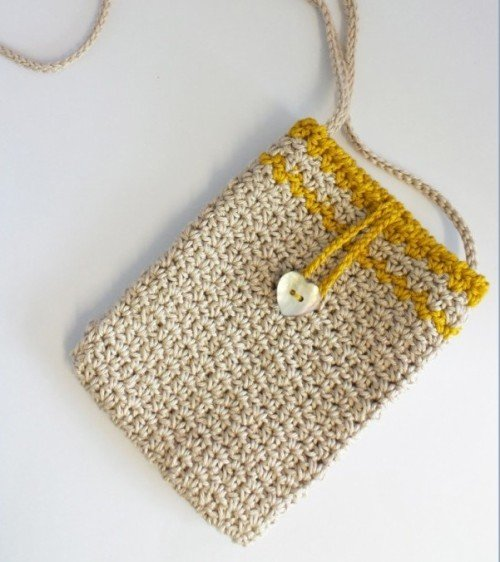 little, crochet, bag, evening, free, pattern, holiday