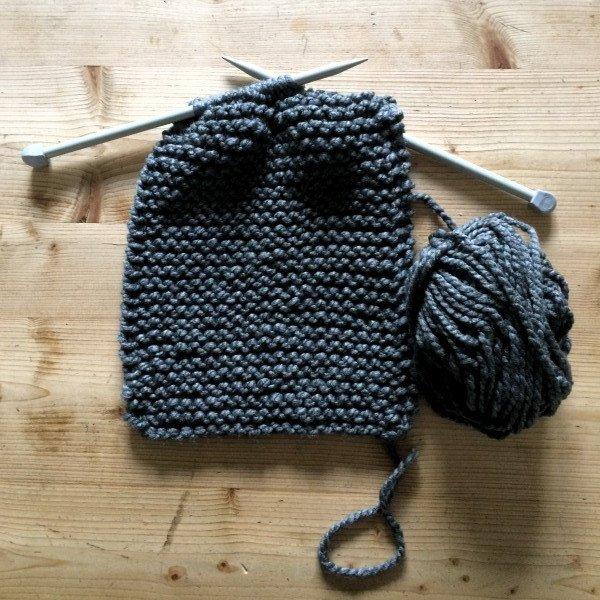 garter-stitch-cowl-hayfield-bonus-super-chunky