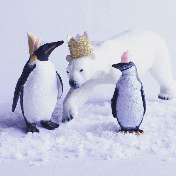 penguin - polarbear-christmas