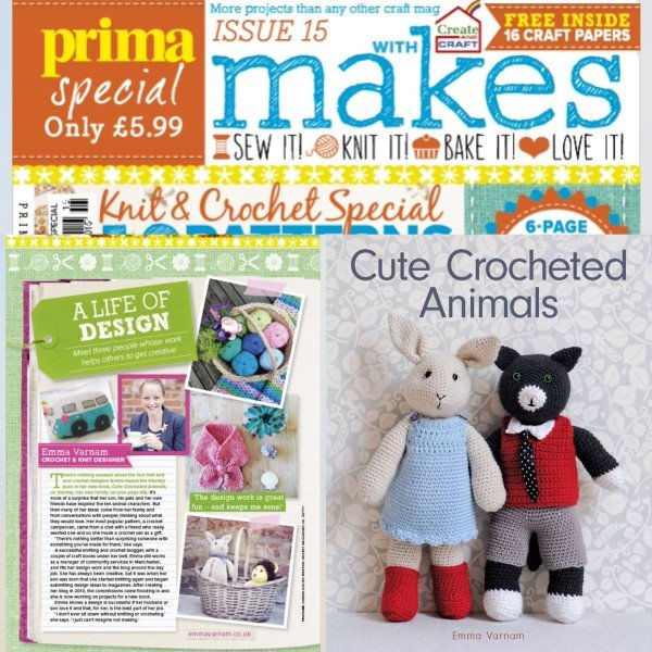 Prima Makes Feature And Interview Emma Varnams Blog