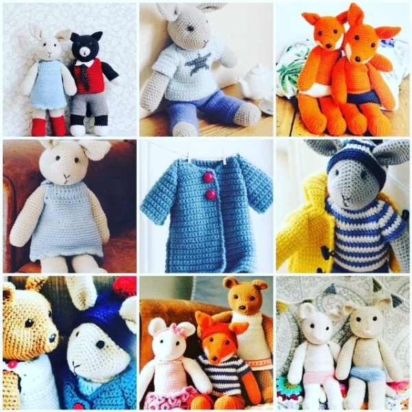 Cute Crocheted Animals - who are you making? • Emma Varnam's blog
