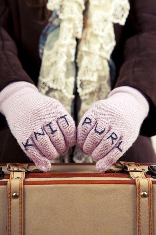 Knit Purl Gloves - Emma Varnam(1)