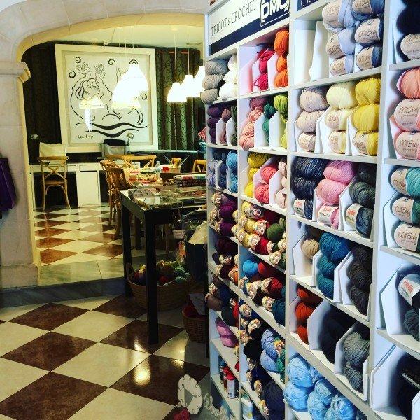 yarn, shop, pollenca, mallorca
