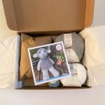 crochet kit, sam the lamb