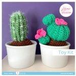 Crochet kit-Cactus plants